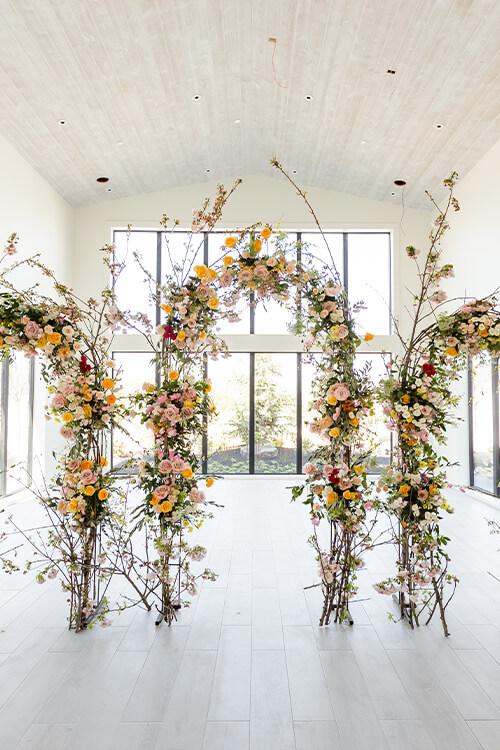 Aspen-Ranch-Indoor-Ceremony-Arches