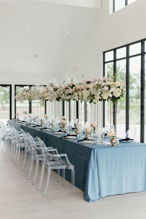 Aspen Ranch Wedding Reception